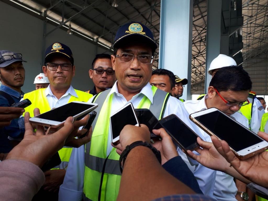 Menteri Perhubungan Budi Karya Sumadi. Medcom.id/Faisal Abdalla.