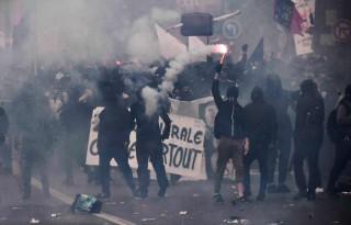 Kerusuhan Peringatan Hari Buruh, 200 Demonstran Ditangkap di Paris