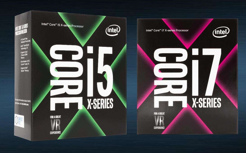 Intel Core i5 X-series dan Core i7 X-series dari Kaby Lake.