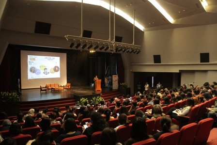 Suasana event Makers Talk di Universitas Kristen Maranatha Bandung. Foto: Dok. Universitas Kristen Maranatha