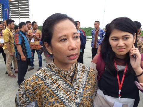 Menteri Rini Tinjau Proyek Kereta Cepat Jakarta-Bandung