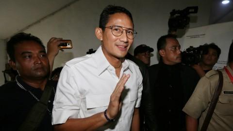 Sandiaga Langsung Pesan Bus Listrik Usai Ditantang Jokowi