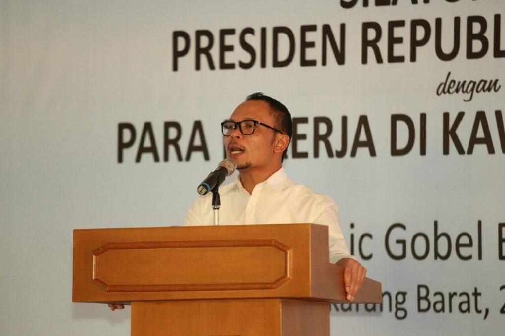 Menaker M Hanif Dhakiri (Foto:Dok.Kemenaker)