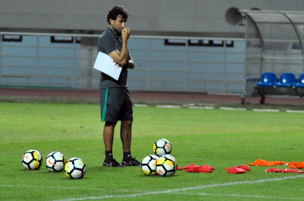 Pelatih tim nasional Indonesia Luis Milla (Foto: ANTARA FOTO/Arif Firmansyah)