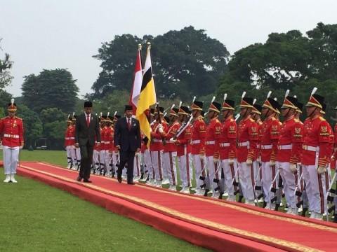 Jokowi Terima Sultan Brunei Darussalam