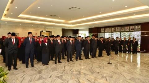 Jonan Lantik 70 Pejabat Kementerian ESDM
