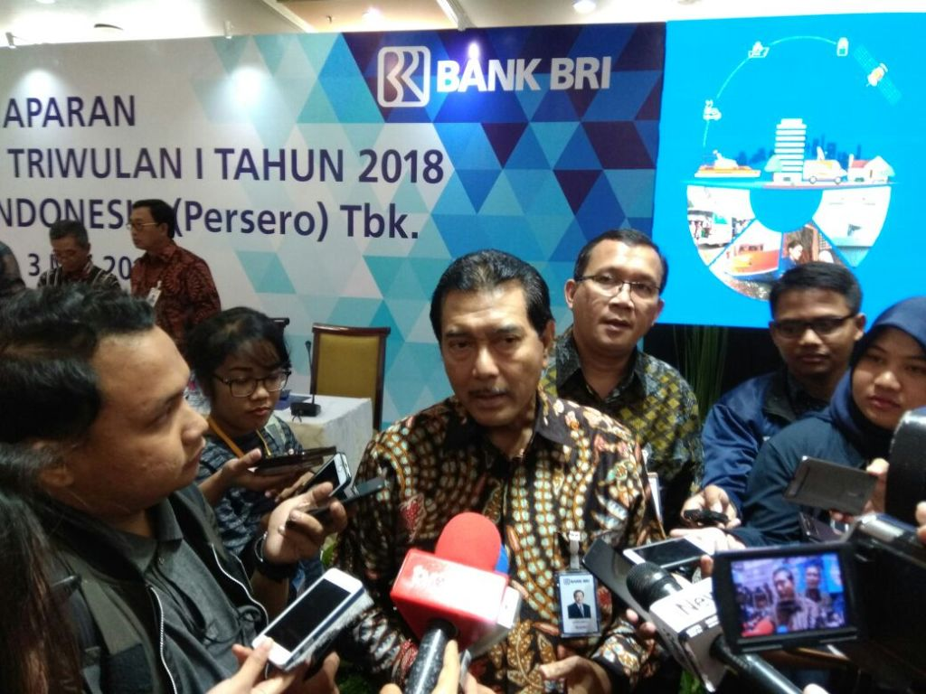 Direktur Utama PT Bank Rakyat Indonesia Tbk (BRI) Suprajarto. (FOTO: Medcom.id/Desi Angriani)