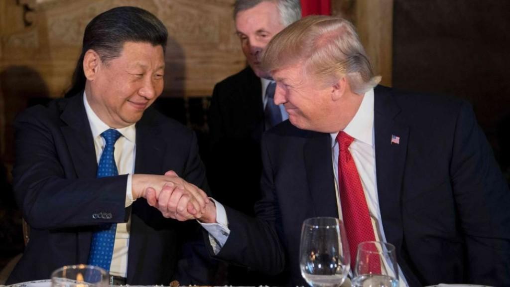 Presiden Amerika Serikat Donald Trump dan Presiden Tiongkok Xi Jinping (FOTO: AFP)