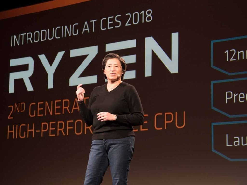 CEO AMD Dr.Lisa Su. (PCR)