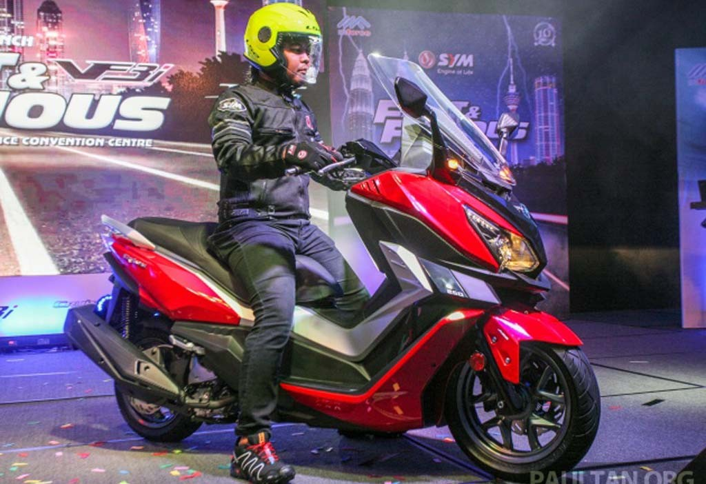 SYM Cruisym 250i jadi pesaing Yamaha Xmax 250 jika masuk Indonesia. Paultan