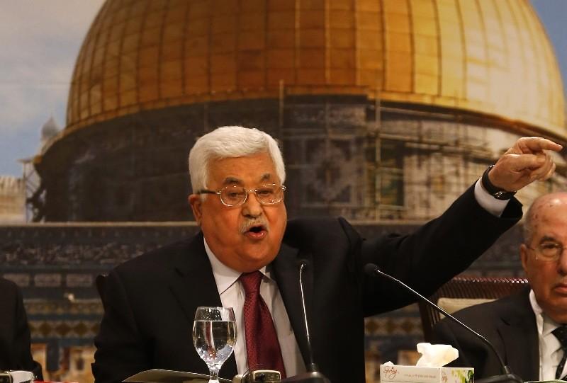 Presiden Palestina Mahmoud Abbas (Foto: AFP).