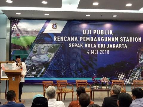Pemprov DKI Lakukan Uji Publik Stadion Sepak Bola Jakarta