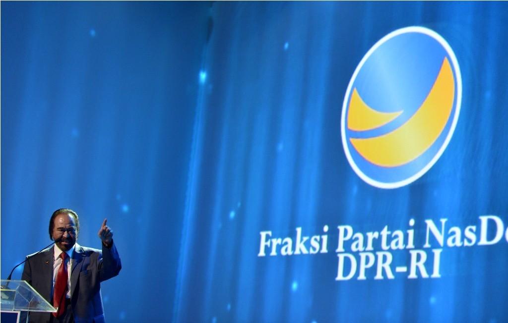 Ketua Umum Partai NasDem Surya Paloh--Antara/Prasetyo Utomo