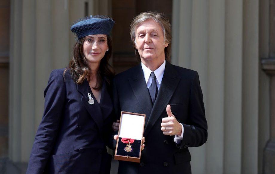 Paul McCartney dan istrinya (Foto: gettyimages)