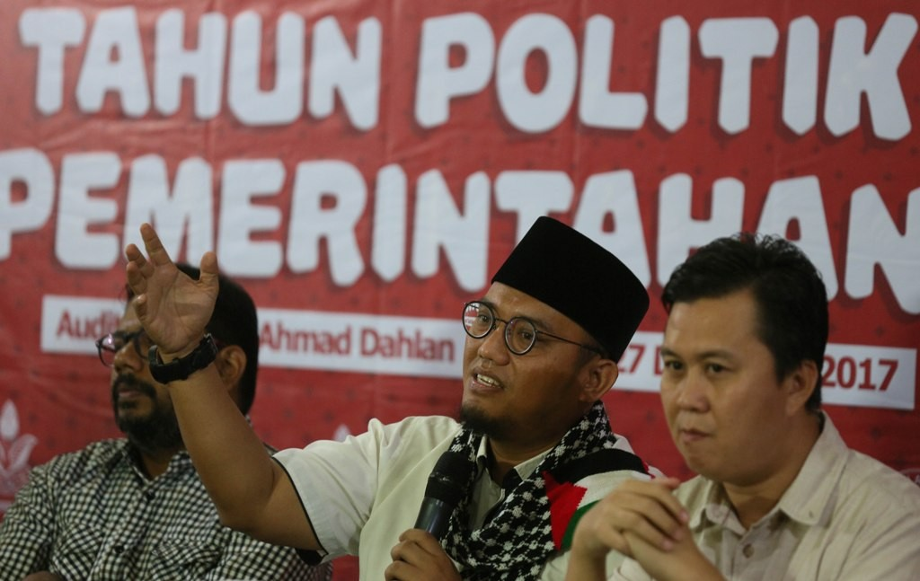 Ketua Umum Pemuda Muhamadiyah Dahnil Anzar Simanjuntak. MI/Ramdani.