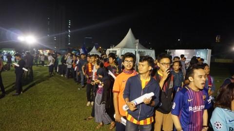 Euforia Laga El Clasico Terasa Hingga ke Indonesia