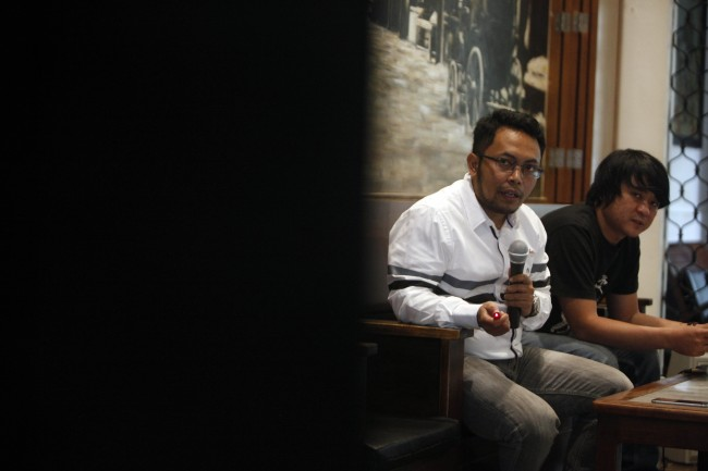Deputi Sekjen Forum Indonesia untuk Transparansi Anggaran (Fitra) Apung Widadi. MI/ROMMY PUJIANTO.