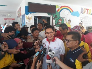 Sandiaga Doakan Anies Tetap Jabat Gubernur