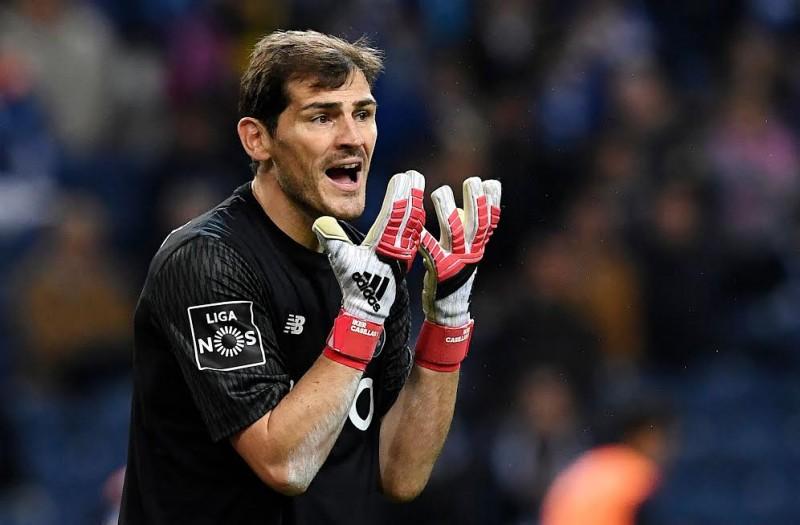 Iker Casillas: AFP/FRANCISCO LEONG)