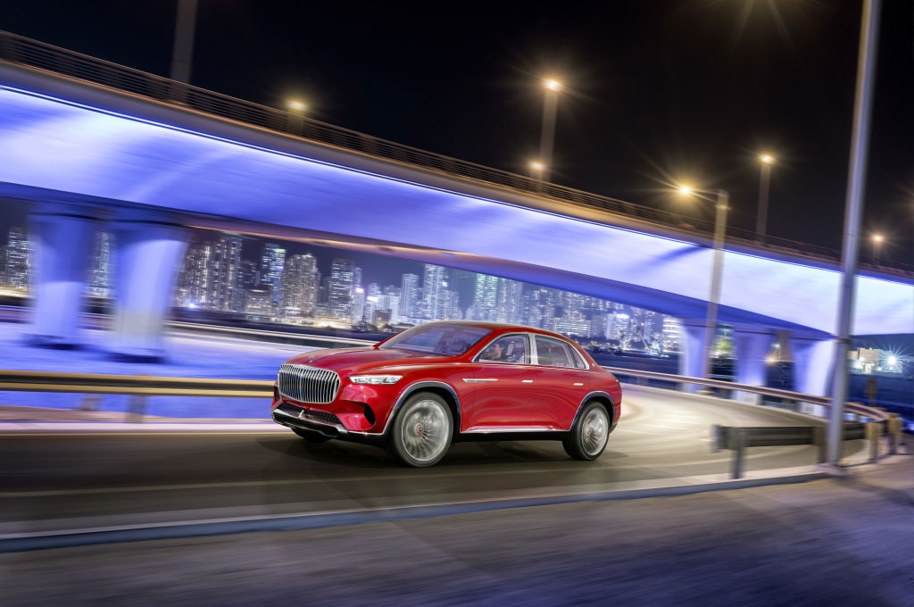 Mercedes-Maybach Vision Ultimate Luxury Concep bakal jadi SUV ultra mewah dari Jerman. Daimler