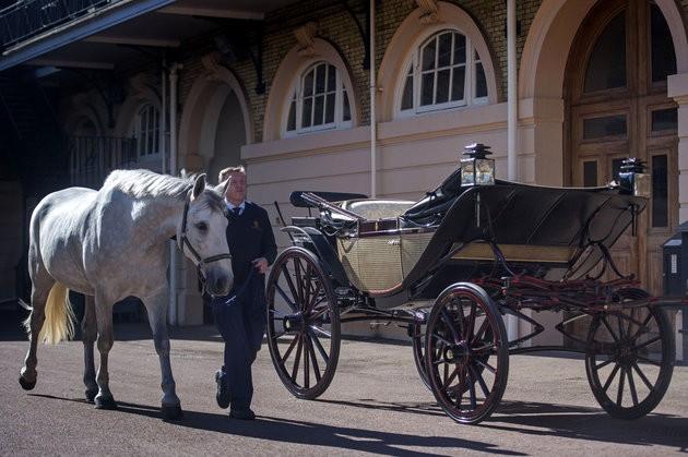 Pangeran Harry dan Meghan Markle telah memilih kereta kencana untuk hari pernikahan mereka, 19 Mei 2018. Kereta Ascot Landau akan membawa mereka saat prosesi arak-arakan singkat di Windsor Town. (Foto: Courtesy of Huffingtonpost.com)