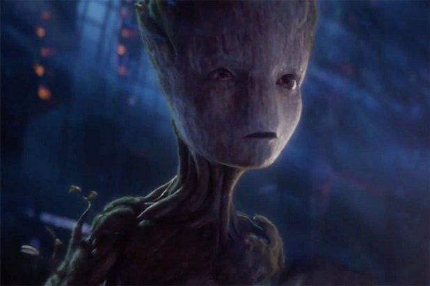 Sutradara James Gunn beritahu arti kalmiat Groot yang terakhir. (Marvel Studios).