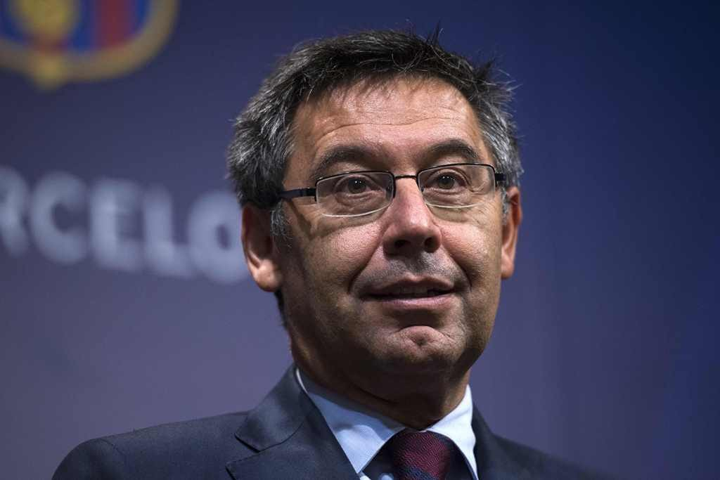 Josep Maria Bartomeu (Foto AFP/JOSEP LAGO)