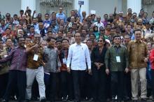 Jokowi Ajak Nelayan Tinggalkan Cantrang