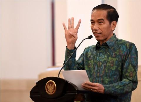 Jokowi: 363 Kapal Asing Ilegal Ditenggelamkan