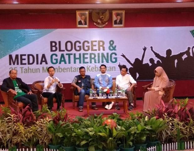 Suasana acara Blogger and Media Gathering Dompet Dhuafa - Foto: Medcom.id/Fachri Audhia Hafiez