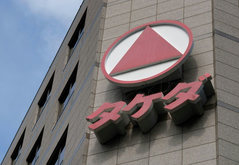 Analysts say the deal would be a smart move by Takeda as it looks to diversify but there are also concerns that it could be overextending itself financially. (Photo:AFP/Kazuhiro Nogi)