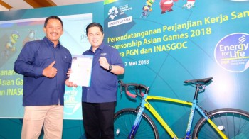 PGN Dukung Pelaksanaan Asian Games 2018