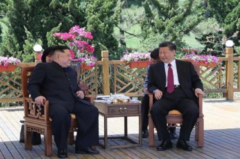 Presiden Xi dan Kim Jong-un Diam-Diam Bertemu di Tiongkok