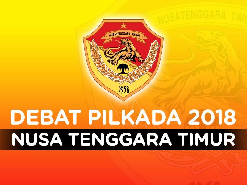 Debat Pilkada 2018: Nusa Tenggara Timur, Pasangan Calon Nomor Urut 1