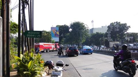 Blokade Jalan Warga Kostrad Akibatkan Macet Hingga 4 KM
