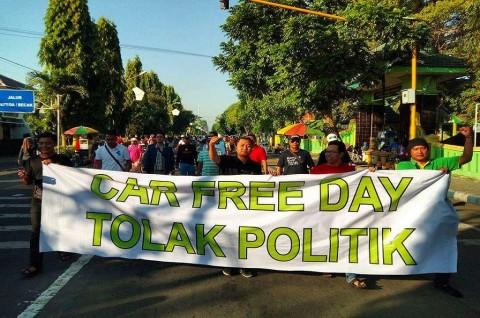 Agenda Politik Dilarang dalam <i>Car Free Day</i> di Jombang