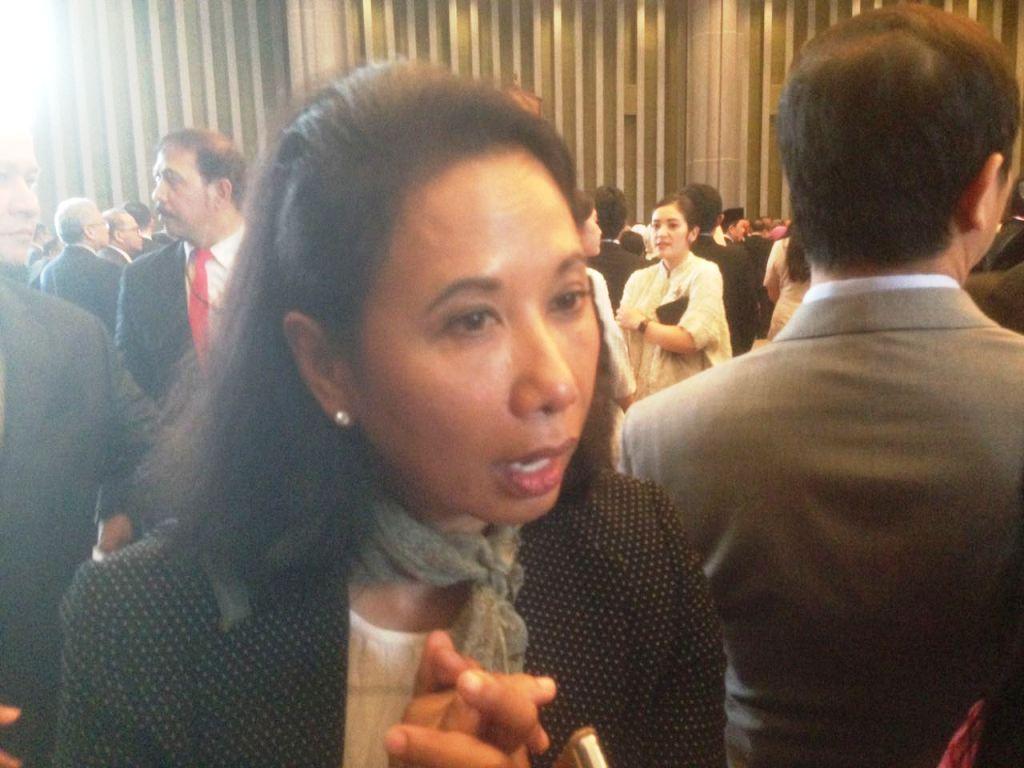 Menteri BUMN Rini Soemarno. (FOTO: Medcom.id/Desi Angriani)