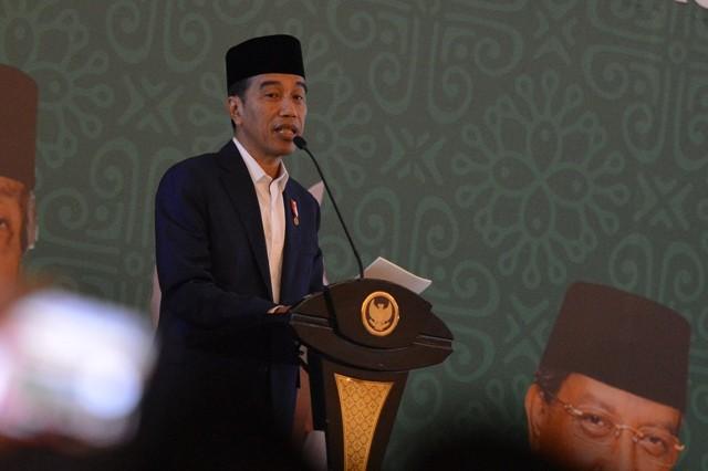 Presiden Joko Widodo. Foto: Antara/Wahyu Putro.