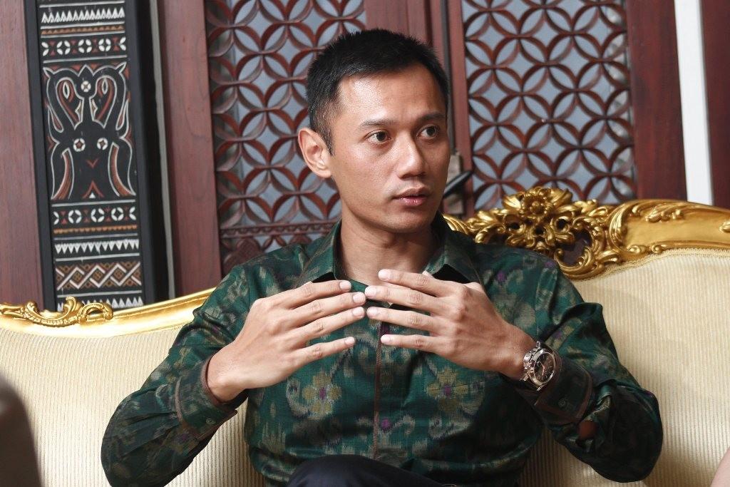 Agus Harimurti Yudhoyono (AHY)--MI/Angga Yuniar