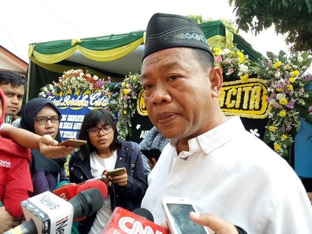 Ketua RW 10 Lubang Buaya, Cipayung, Jakarta Timur, Sutarlan. Foto: Siti Yona Hukmana/Medcom.id