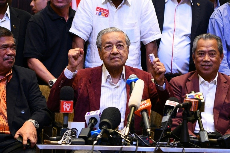 Mahathir Mohamad is credited with creating a modern Malaysia, but also criticised for an authoritarian streak. (Photo:AFP)