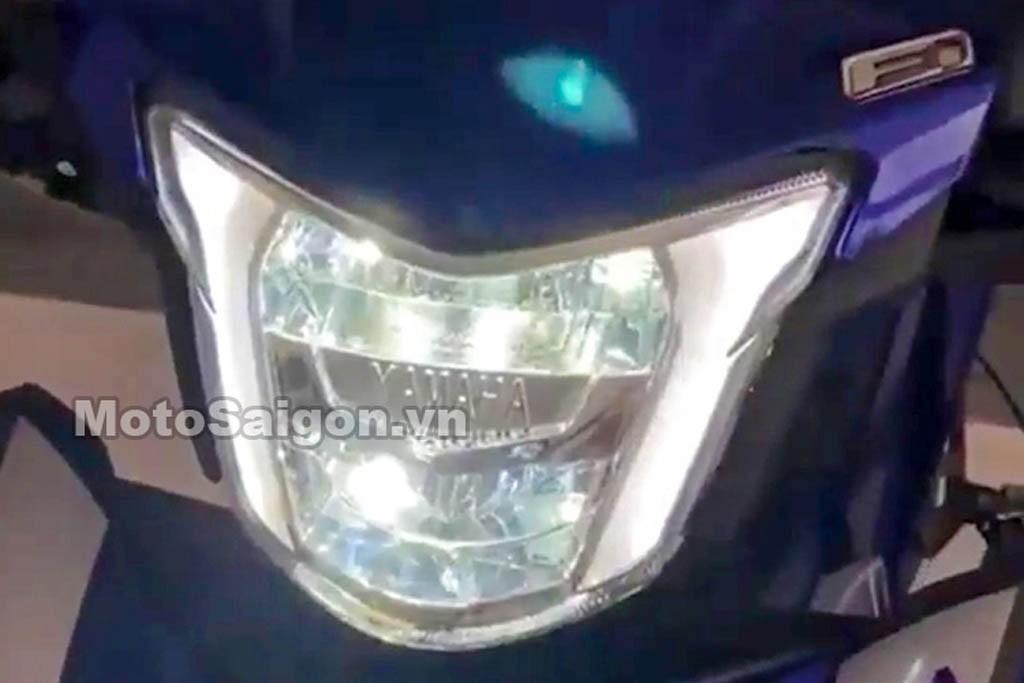 Lampu utama MX King baru sudah LED dengan positioning lamp. Moto Saigon