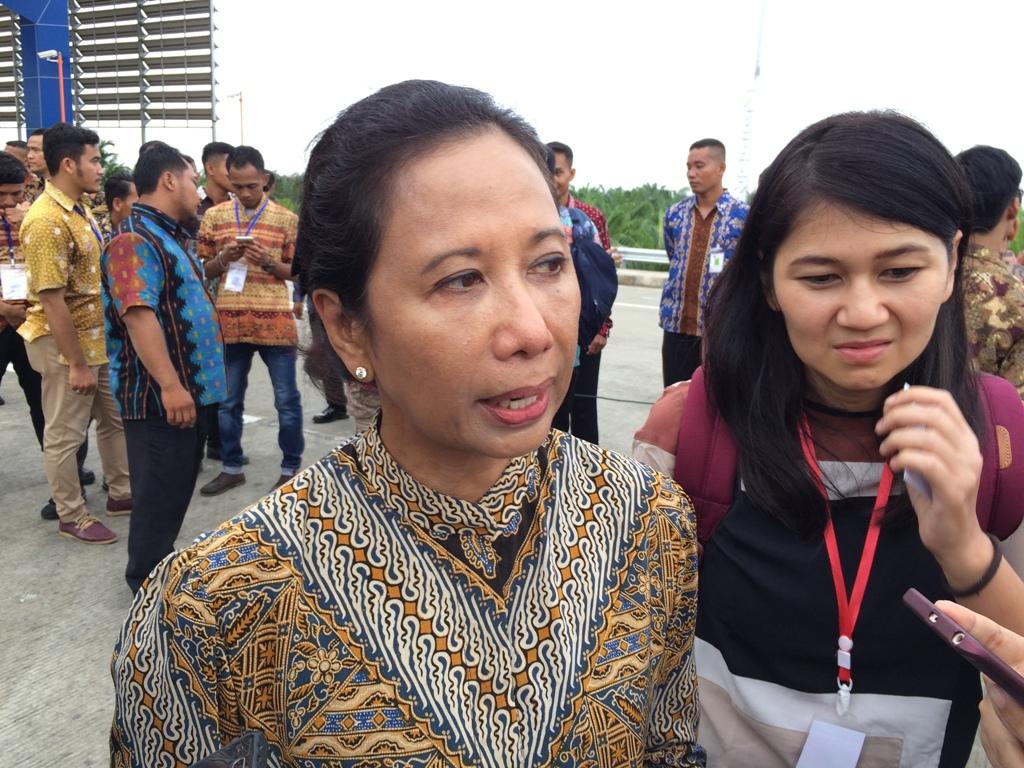 Menteri BUMN Rini Soemarno. (FOTO: Medcom.id/Husen Miftahudin)
