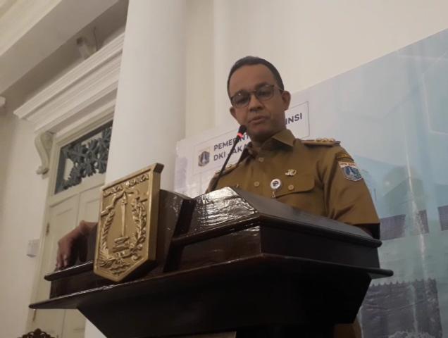Gubernur DKI Jakarta Anies Baswedan--Medcom.id/M Sholahadhin Azhar.