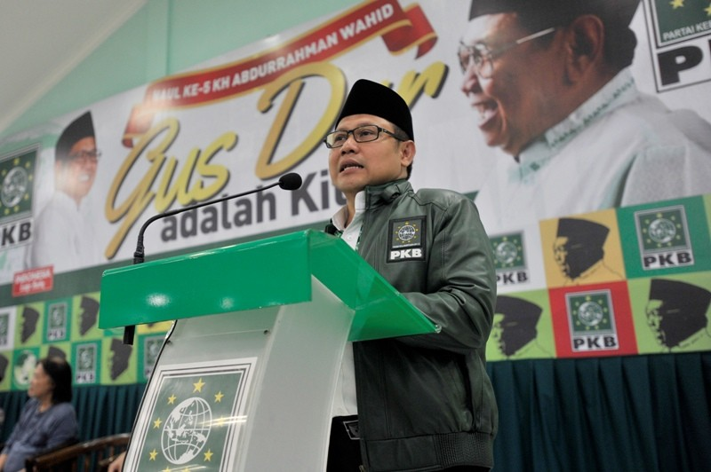 Ketum DPP PKB Muhaimin Iskandar. Foto: ANT/Ismar Patrizki