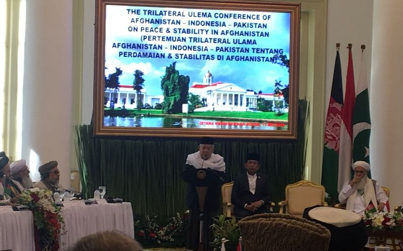 Ketua Majelis Ulama Indonesia (MUI) Ma'aruf Amin berharap (Foto: Sonya Michaella).