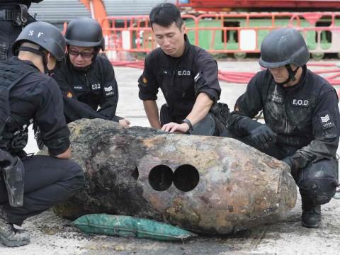 Bom PD II Ditemukan, Hong Kong Evakuasi 1.200 Orang