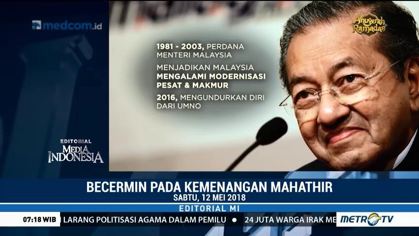 Becermin pada Kemenangan Mahathir