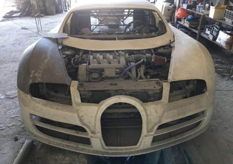 Bugatti Veyron 'Setengah Jadi', Dijual Rp57 Jutaan