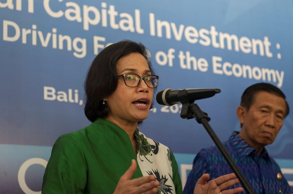 Menteri Keuangan Sri Mulyani Indrawati (ANTARA FOTO/Nyoman Budhiana)